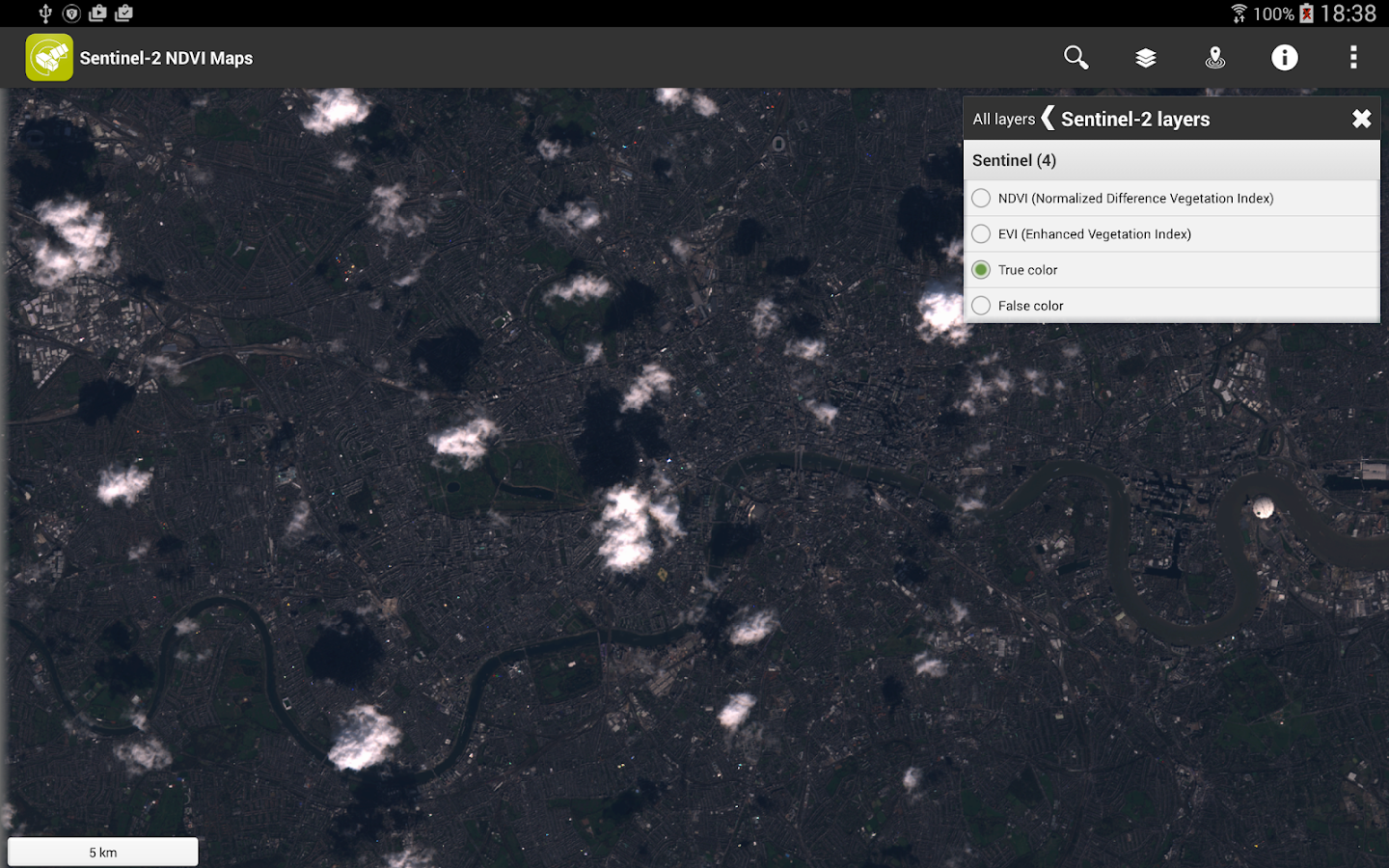 Sentinel-2 NDVI Maps- screenshot