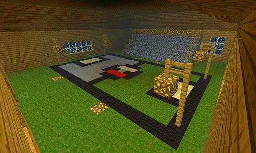 Pixel Gym Mod - minecraft screenshot