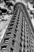 Photo: After seeing some wonderful black and white architectural photos today I was inspired to work on a few images of my own. This is a shot of the Flatiron Building (originally the Fuller Building) in New York City that I took a few months ago. I shot this with a rented D800 and I'm still amazed at the amount of detail that camera can capture. View the image large and you can see all the great details that went into this building.  #monochromemonday with +Hans Berendsen+Jerry Johnson+Manuel Votta+Steve Bargeand +Nurcan Azaz