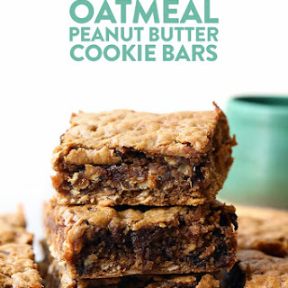 Oatmeal Peanut Butter Cookie Bars.