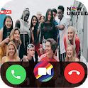 Call From 📱 Now United video call +chat simulator icon