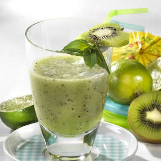 Kiwi Kisses Smoothie.