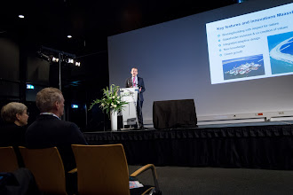 Photo: Prof. Tiedo Vellinga's keynote was about implementing sustainable design solutions in port development.