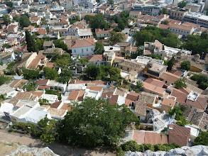 Photo: Les toits de Plaka