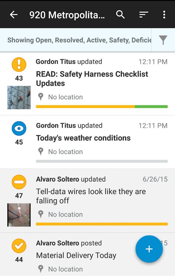 FieldLens for Construction- screenshot