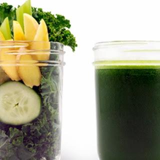 Kale Kool-Aid Juice.
