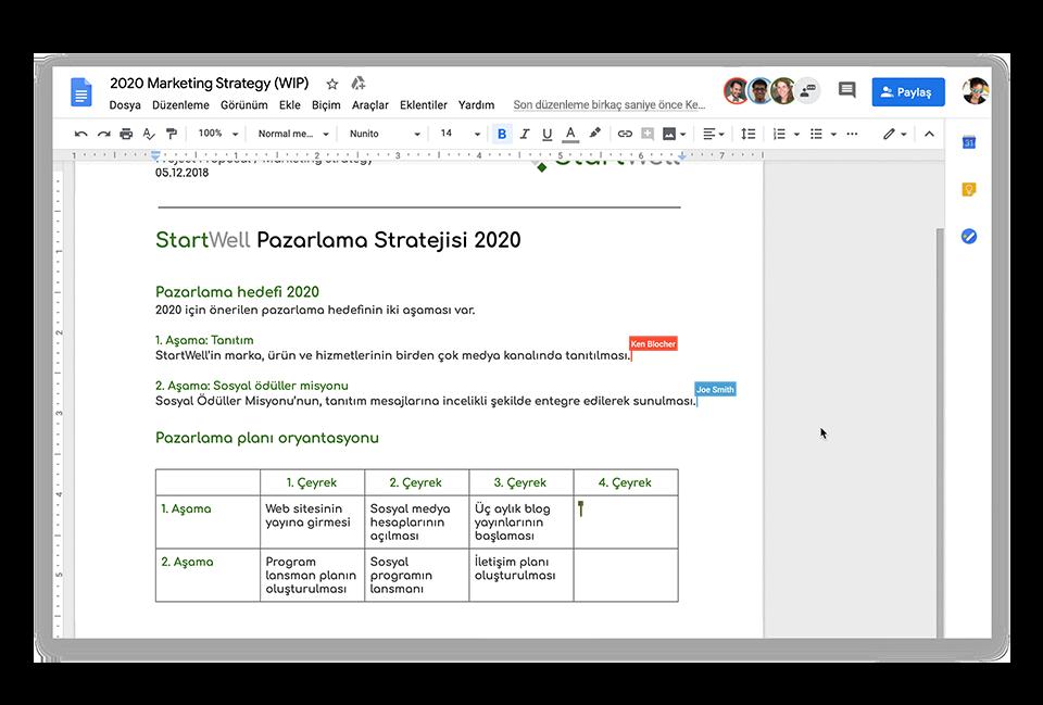 Ekip çalışmasını geliştirmek için modern ortak çalışma araçları