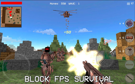 Block War Metal 3D - Shooter