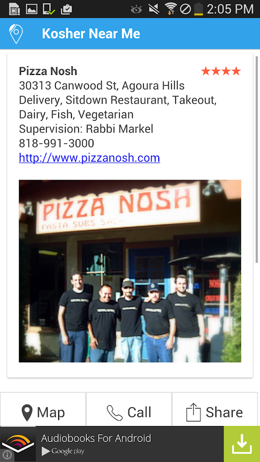 Kosher Near Me - Android Apps on Google Play