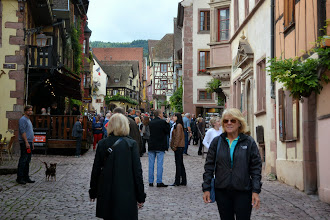 Photo: Riquewihr is a remarkable town