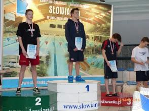 Photo: Zimowe Mistrzostwa Polski Juniorów 16 letnich (16.03.2014) - Maciej Danilewski srebrny medal