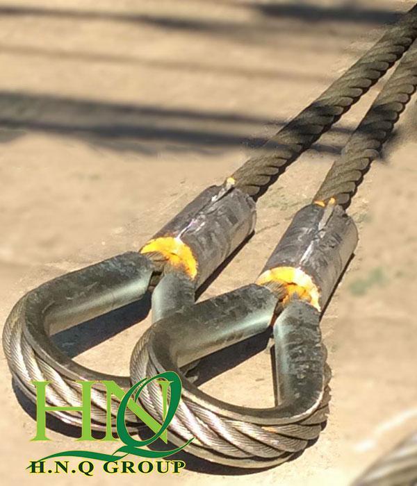 Cần quan tâm đến kích thước sợi sling cáp