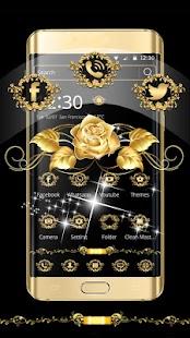Gold Rose Theme Luxury Gold - náhled