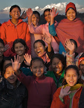 Photo: Rescued young people at Esther Benjamins  Trust in Kathmandu Nepal  photographed by Philip Horgan
