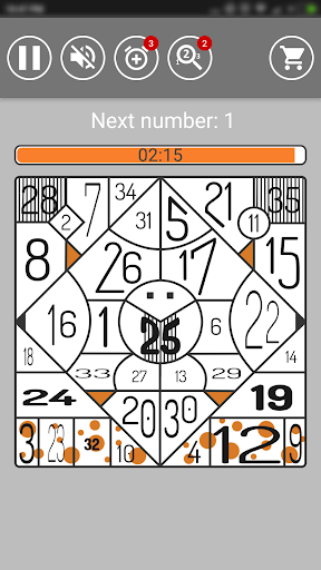 Find Numbers | Brainstorm Puzzle Game 1.9.6-free screenshots 6