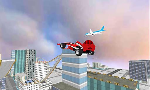 玩模擬App|體育賽車房頂上跳下免費|APP試玩