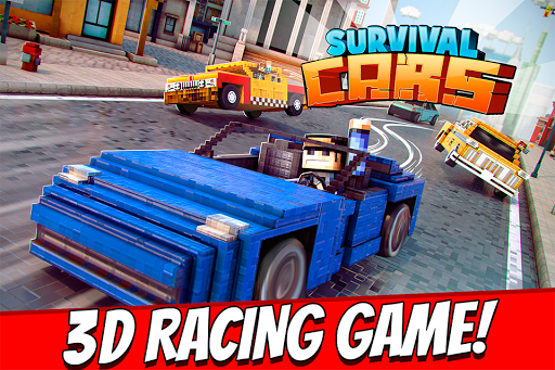 Survival Cars . Blocky Racing