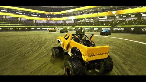 Télécharger Monster Truck Demolition derby Stunts Simulator 3D apk mod screenshots 3