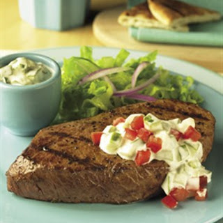 CUCUMBER RANCH STEAKS.