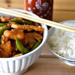 Spicy & Sweet Asian Chicken Stir Fry