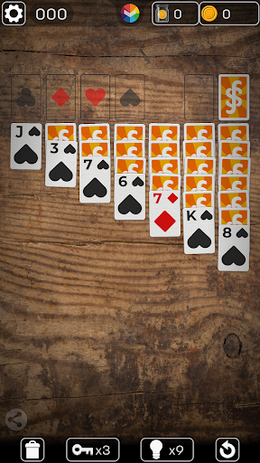 FLICK SOLITAIRE - FLICKING GREAT NEW CARD GAME android2mod screenshots 2