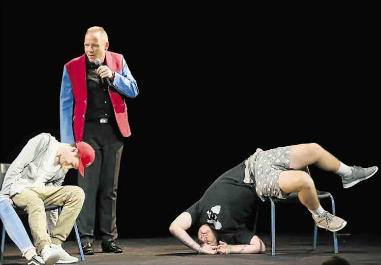 Andre the hypnotist is back in East London with his hilarious show at the Guild Theatre.
