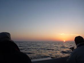Photo: 太陽も昇ってきました!