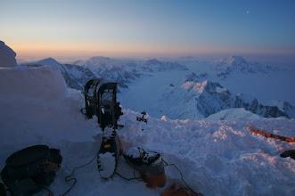 Photo: Sunrise at 4500 m.