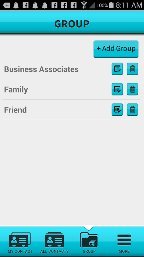 Mobile Bizdex- screenshot