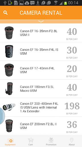 Camera Rental
