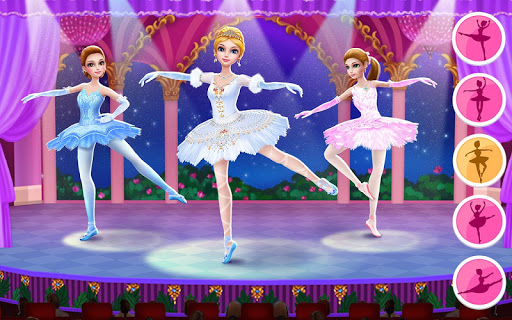 Pretty Ballerina - Dress Up in Style & Dance 1.4.4 Screenshots 1