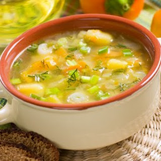 Persian Onion Soup with Orange.