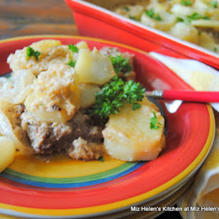 Baked Steak and Potatoes