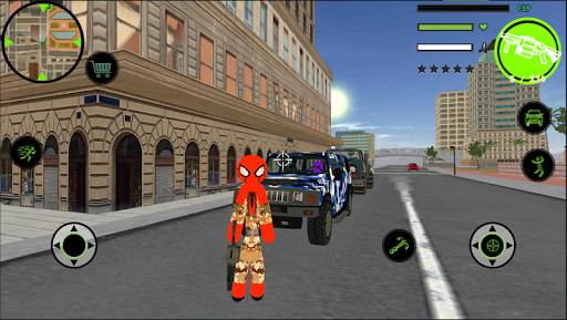 Spider Army Stickman Hero Strange Gangstar OffRoad 1.0 1