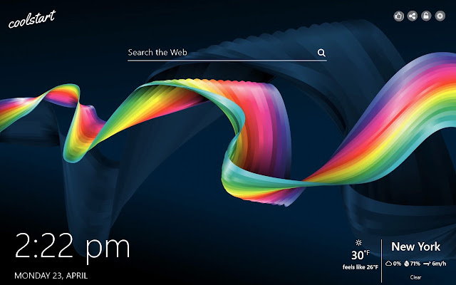 Rainbow HD Wallpapers Colors New Tab Theme