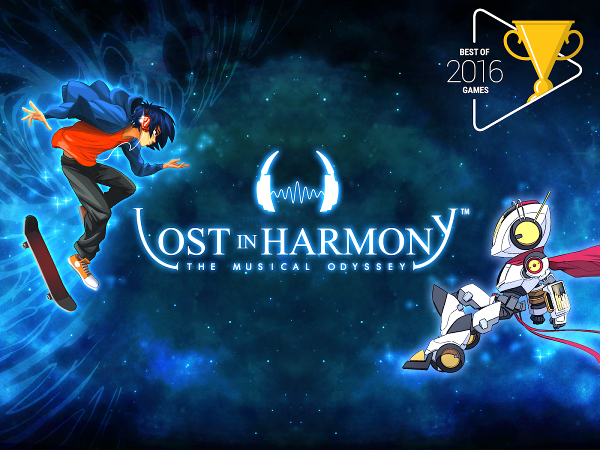 Lost in Harmony- screenshot