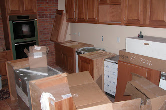 Photo: July 2006 - Month 35: Cabinets and appliances!