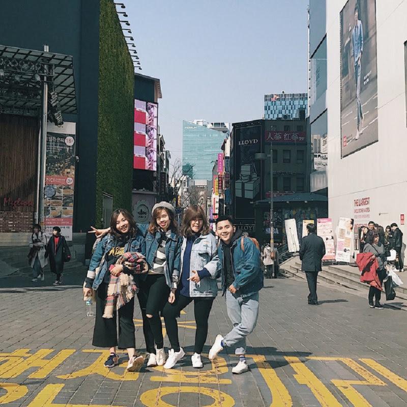 Seoul cuốc bộ kí.