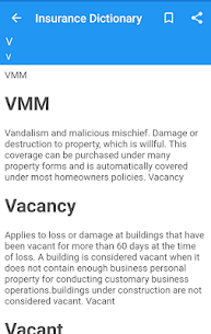 Insurance Dictionary App Latest Version  Download For Android 2
