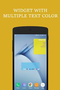 Colorful Sticky Notes + Widget - náhled