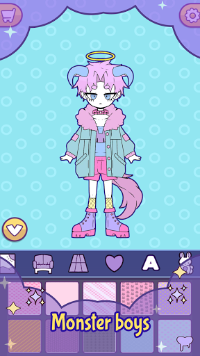 BatDoll Pastel goth dress up boy APK MOD (Astuce) screenshots 5