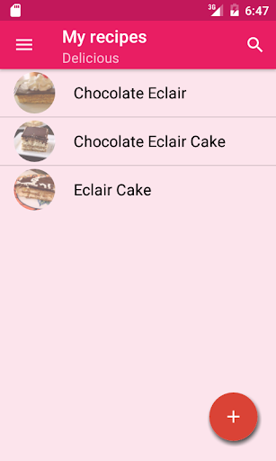 My cook book Screenshot