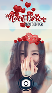 Heart Crown Filter Photo Editor
