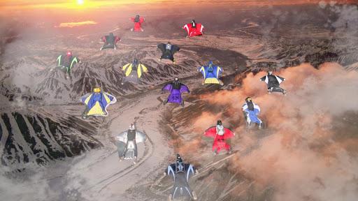Wingsuit Simulator 3D - Skydiving Game  gameplay | by HackJr.Pw 12