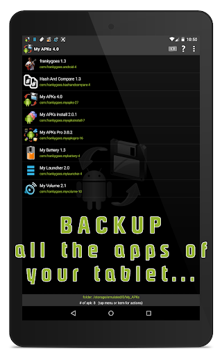 My APKs - backup restore share manage apps apk 4.2 screenshots 10