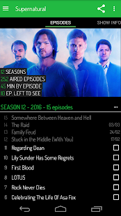 TV Show Tracker - Trakt client - náhled