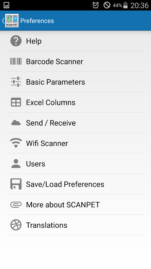 Inventory &  Barcode scanner- screenshot