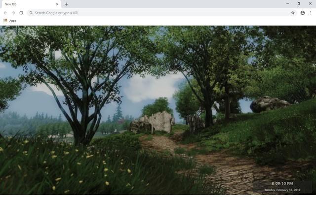The Elder Scrolls IV : Oblivion New Tab