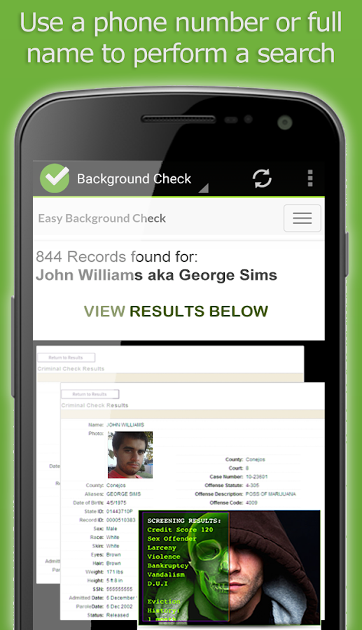 Criminal Search Background Check People Finder App ...