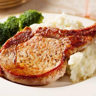 Perfect Pork Chops.
